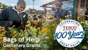 Image result for tesco bags of help centenary grants
