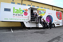 Lab in a Lorry