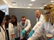 SPECIFIC Baglan Bay Materials Live: Ashley Pursglove; Natalie Wint and Chris Melvin led by Dr Ian Mabbett