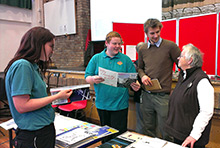 Careers fair held at Ysgol Bro Gwaun in Fishguard