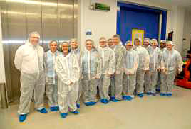 Students from Lewis Girls School visit local pharmaceutical company